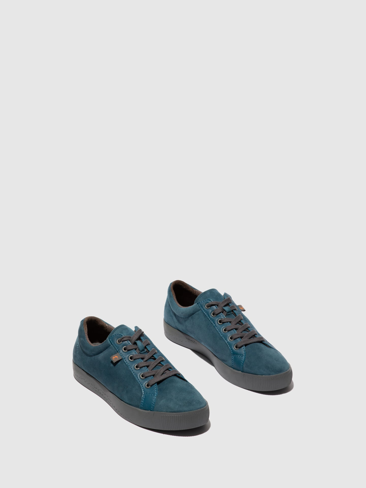 Softinos Lace-up Trainers SURY585SOF BLUE DENIM