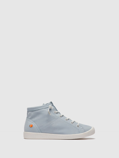 SOFTINOS LightBlue Lace-up Ankle Boots