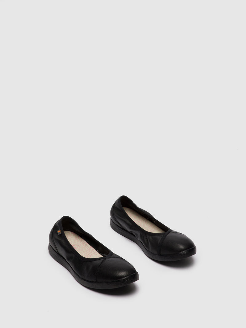 Softinos Slip-on Shoes LILI593SOF Black
