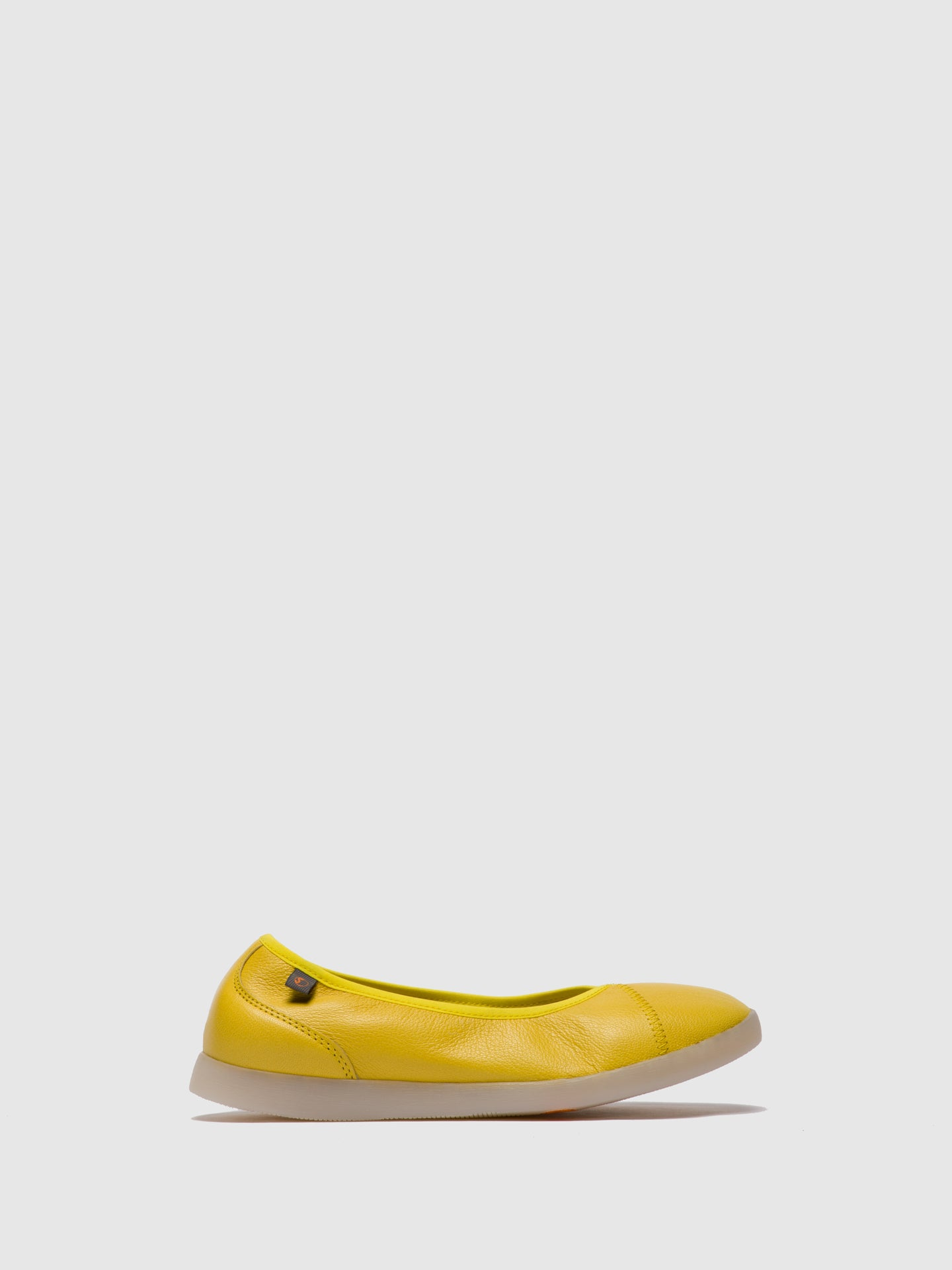 Softinos Slip-on Shoes LILI593SOF Yellow