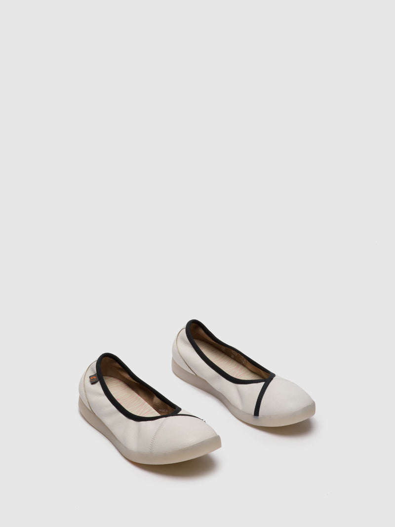 SOFTINOS White Slip-on Shoes