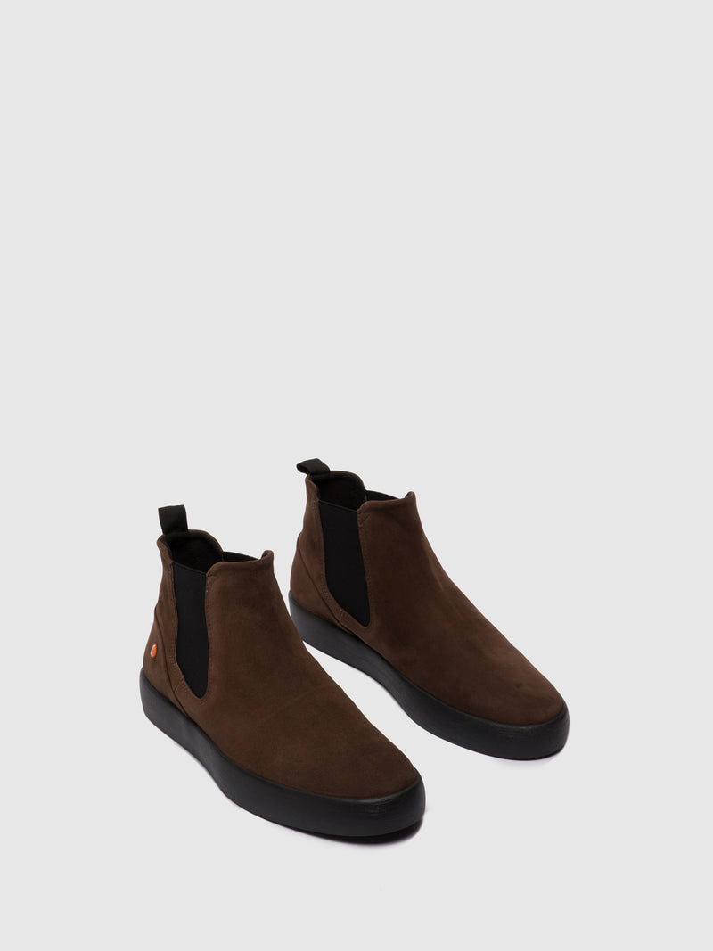 Softinos Chelsea Ankle Boots RYKE611SOF BROWN