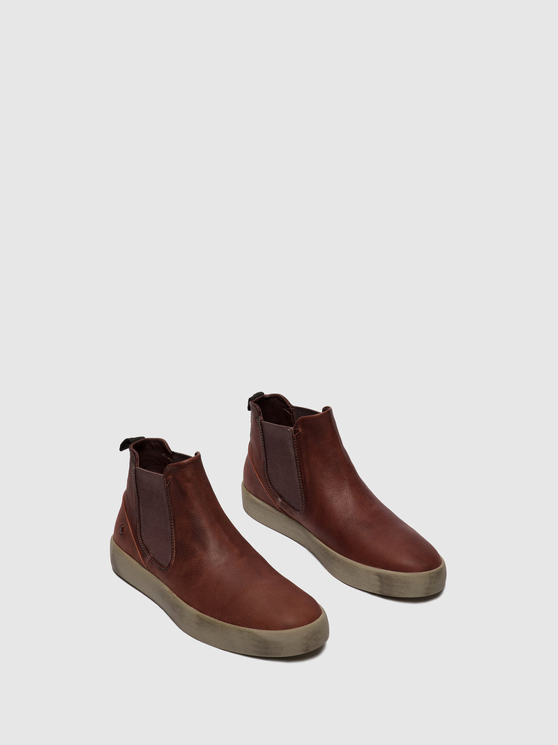 Softinos Chelsea Ankle Boots RYKE611SOF COGNAC