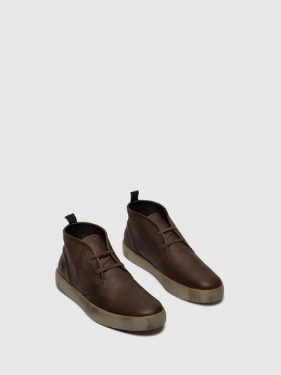 Softinos Lace-up Boots RAFA612SOF DK.BROWN