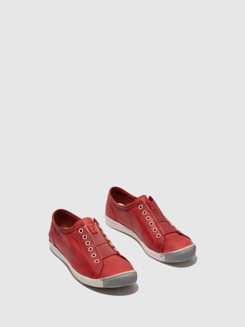 Softinos Slip-on Trainers IRIT637SOF WASHED RED