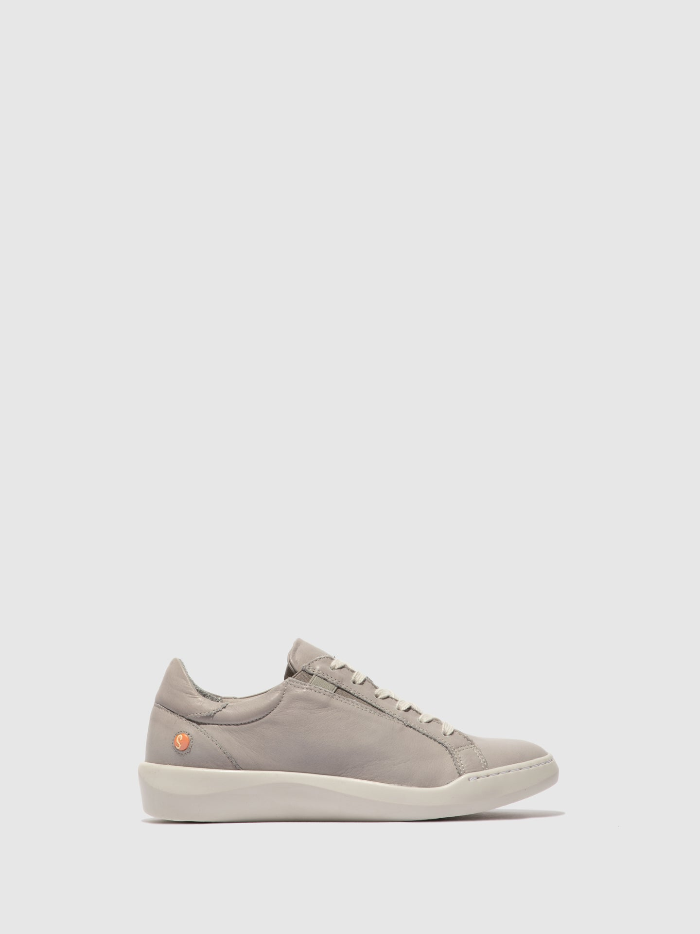 Softinos Lace-up Trainers BELV639SOF SUPPLE LIGHT GREY