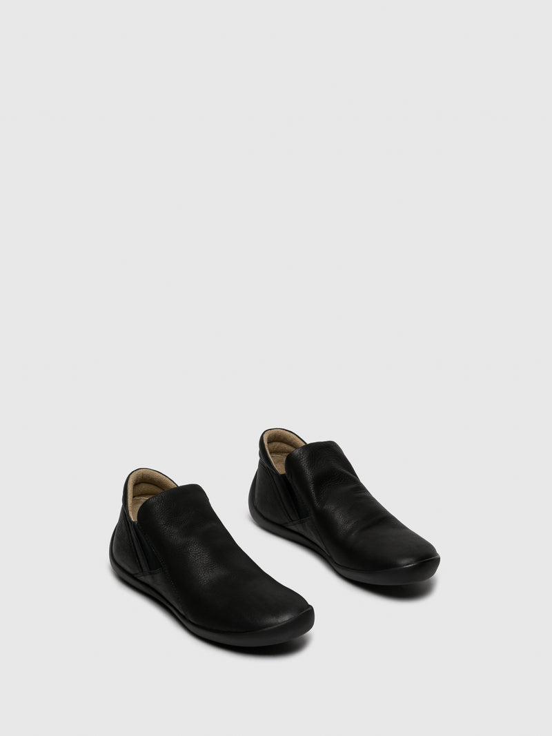 SOFTINOS Black Sock Ankle Boots