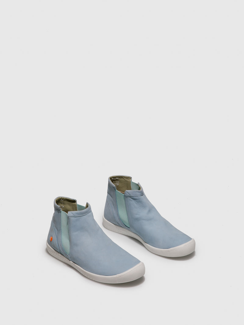 Elasticated Ankle Boots ICI486SOF Baby Blue