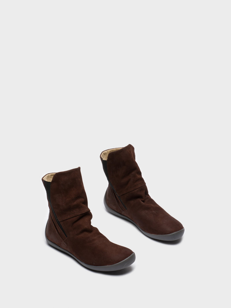 Softinos Brown Sock Boots