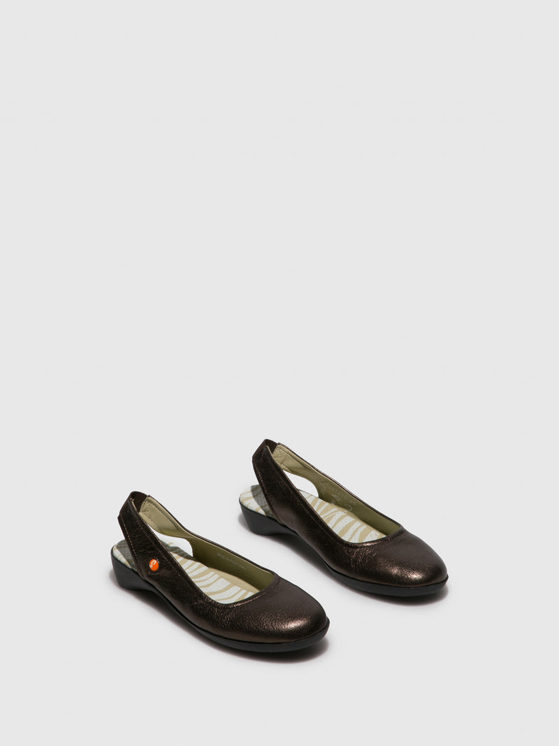 Elasticated Shoes GINY581SOF Coffee