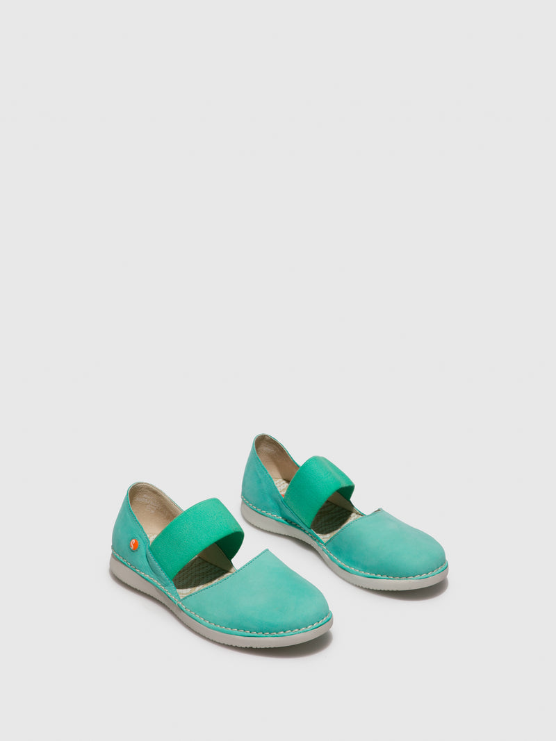 SOFTINOS Elasticated Shoes TEJA576SOF Mynt