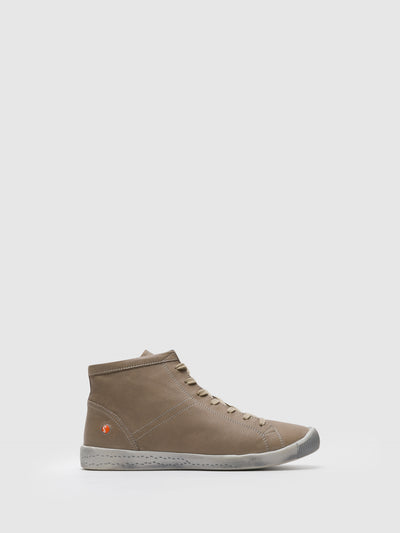 Softinos Wheat Hi-Top Trainers