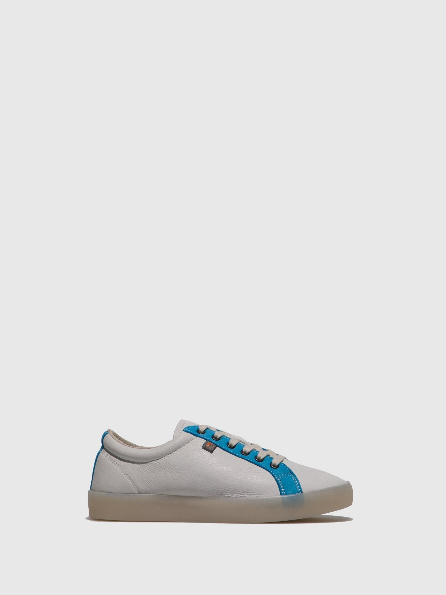 SOFTINOS Lace-up Trainers SURY585SOF White/Azure