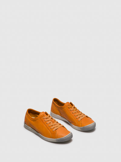 SOFTINOS Orange Lace-up Trainers