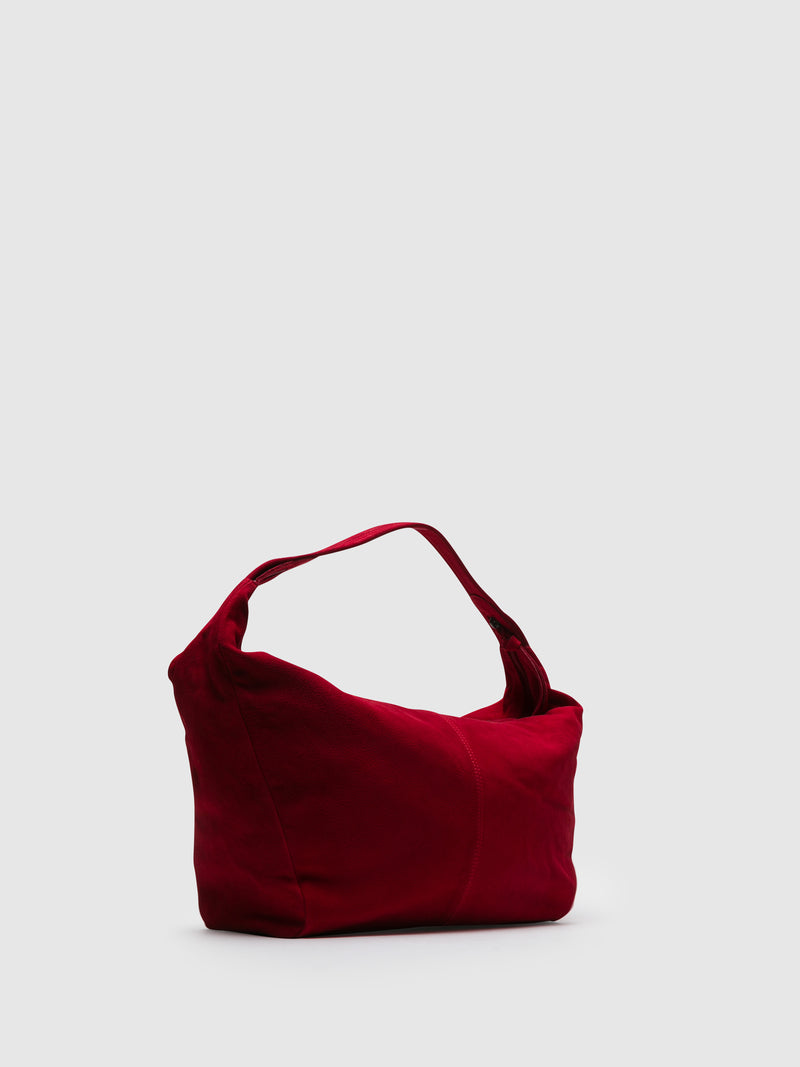 SOFTINOS Red Shoulder Bag