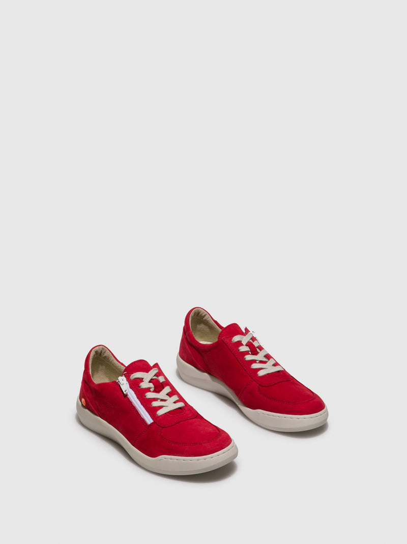 Lace-up Trainers BLAI573SOF Lipstick Red