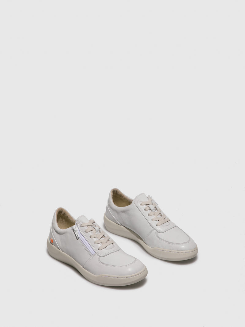 Softinos Lace-up Trainers BLAI573SOF White