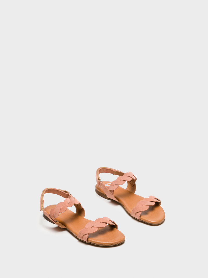 Sotoalto Pink Sling-Back Sandals