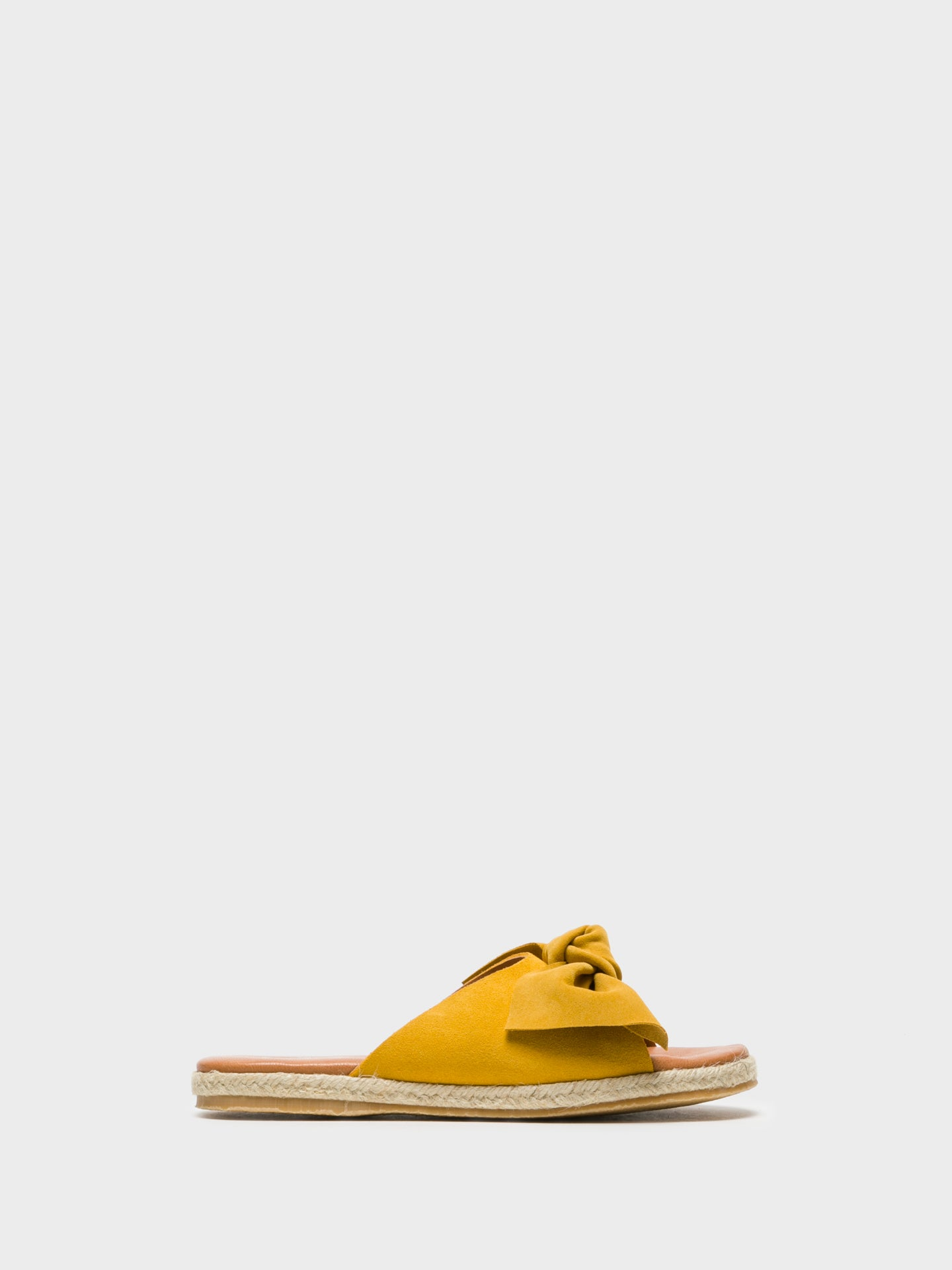 Sotoalto Yellow Embellished Mules