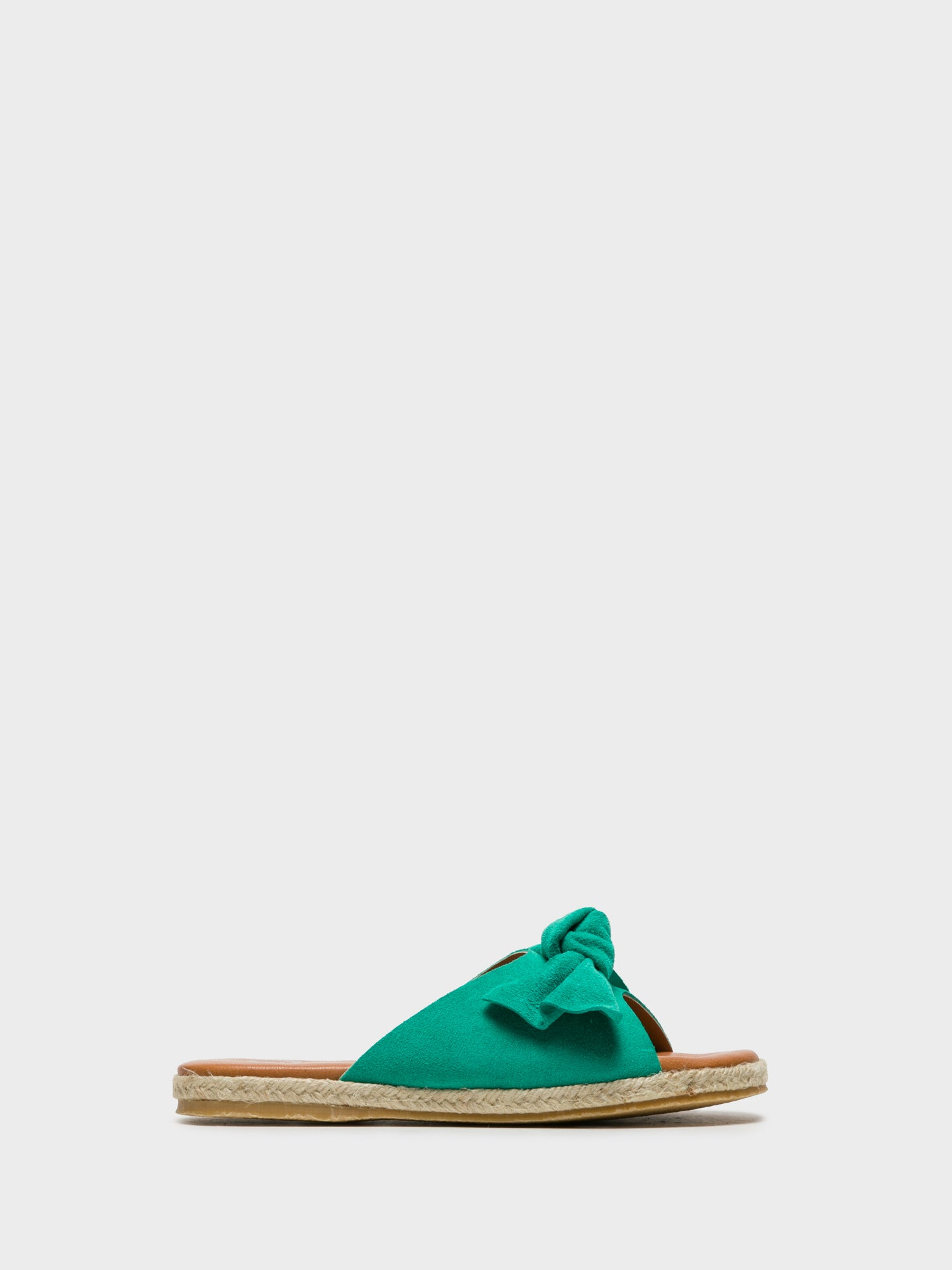 Sotoalto Green Embellished Mules