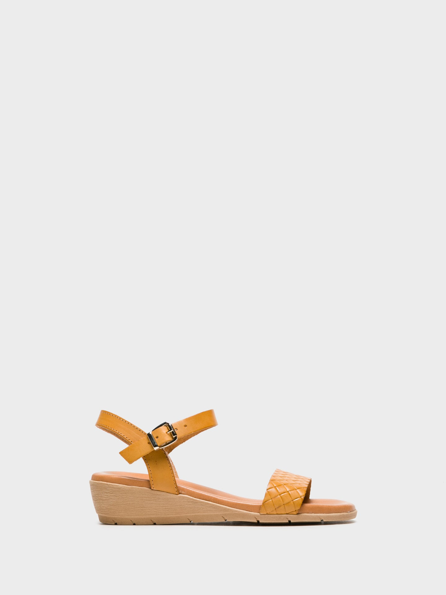 Sotoalto Yellow Sling-Back Sandals