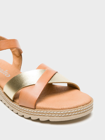 Sotoalto Tan Buckle Sandals