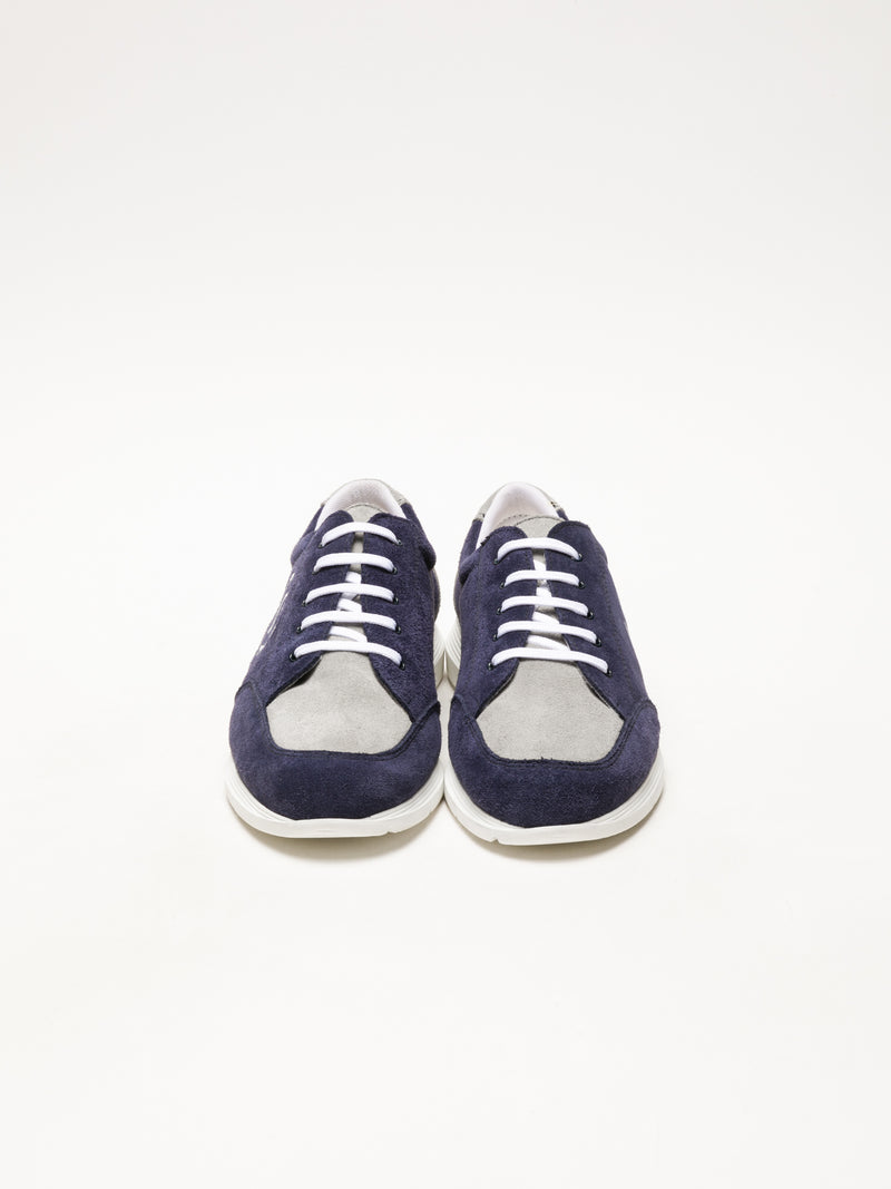 Sotoalto Blue Lace-up Trainers