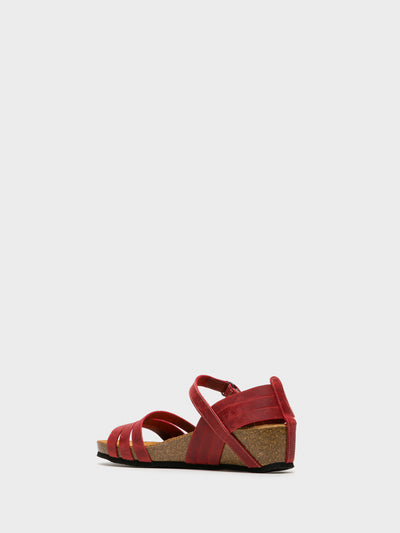 Sotoalto Red Velcro Sandals
