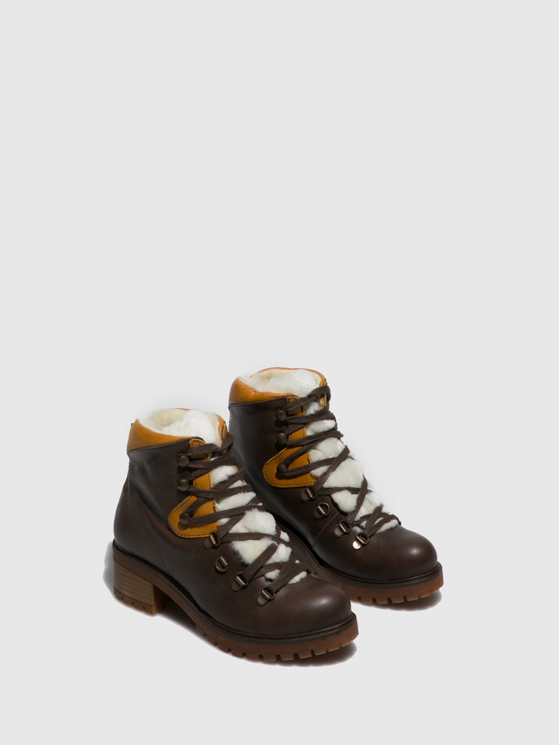Sotoalto Brown Lace-up Boots