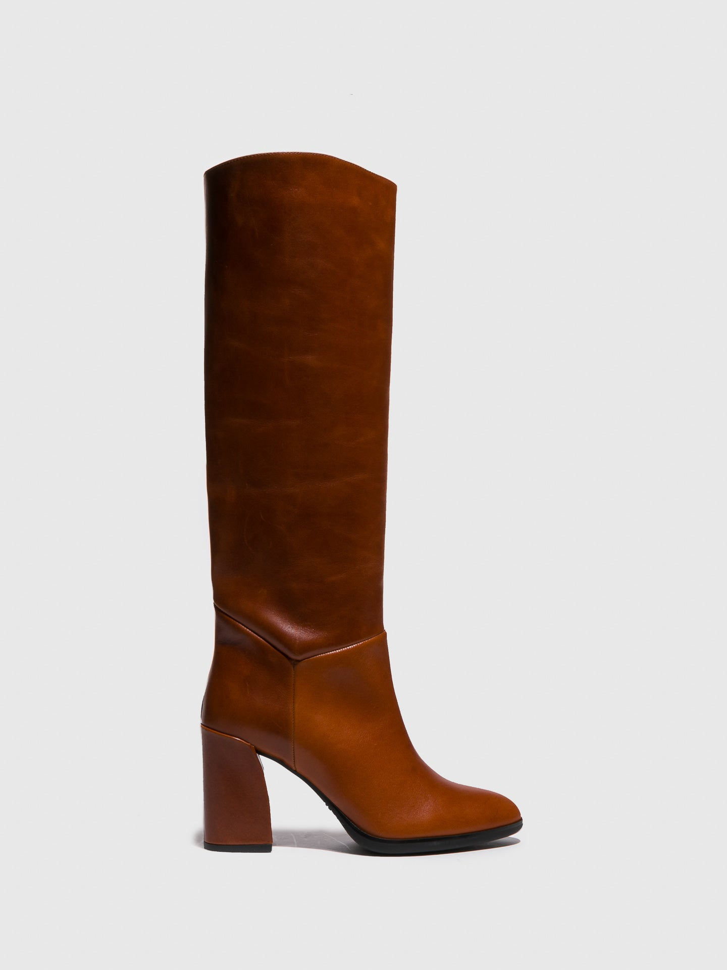Sofia Costa Camel Knee-High Boots