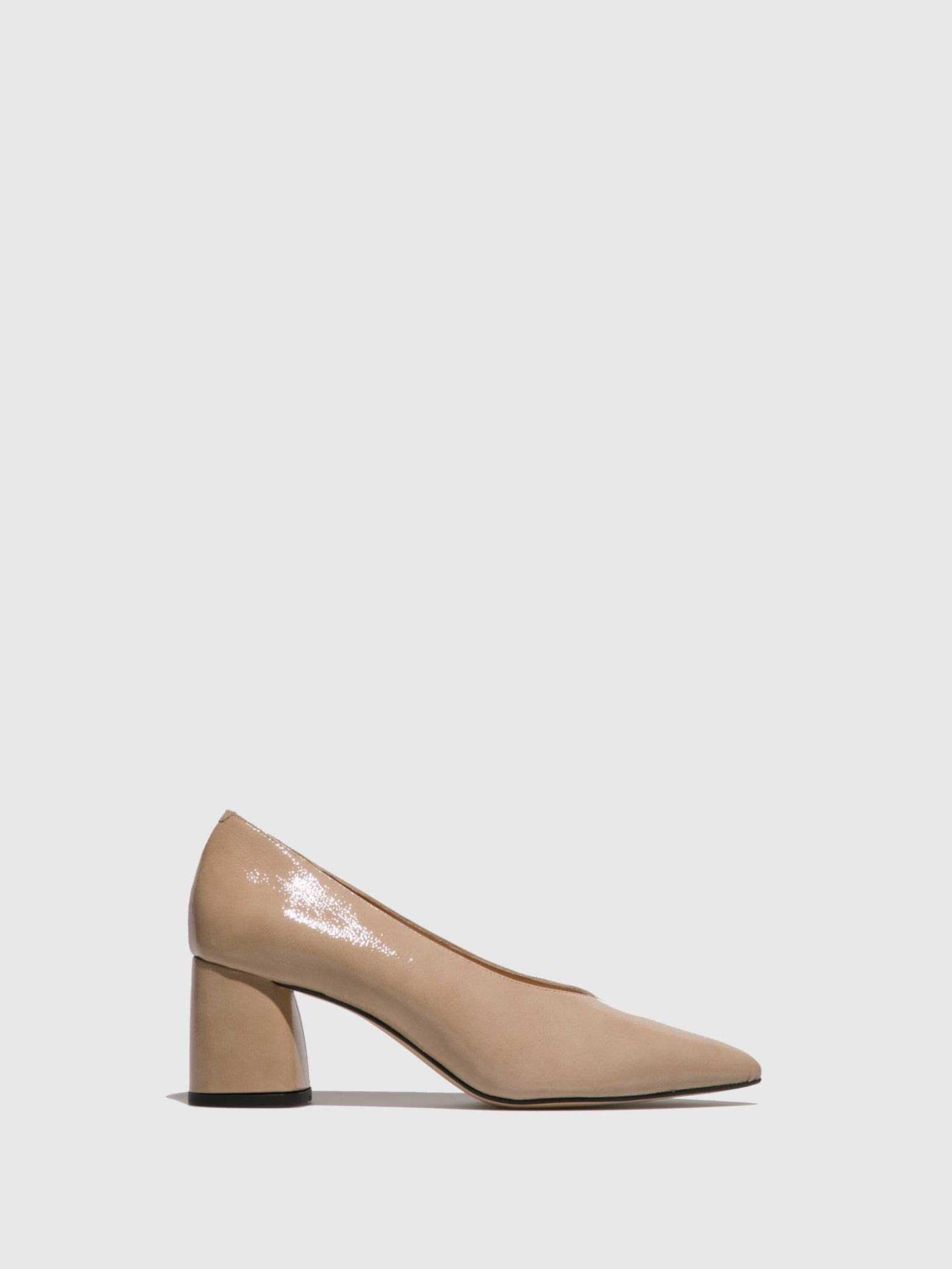 Sofia Costa Beige Pointed Toe Shoes