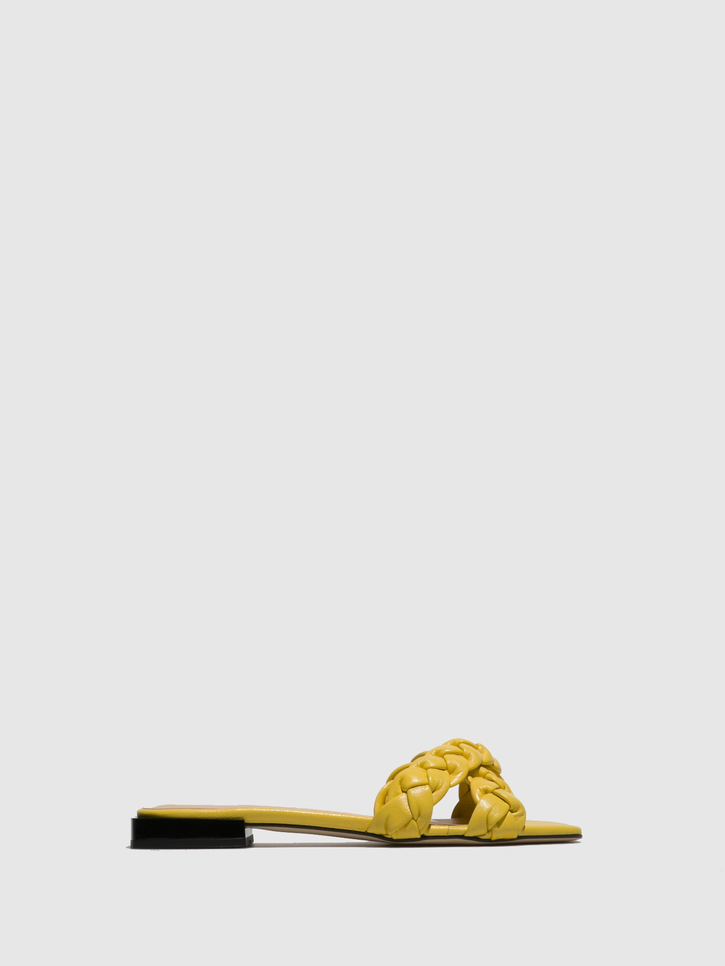 Sofia Costa Yellow Flat Sandals