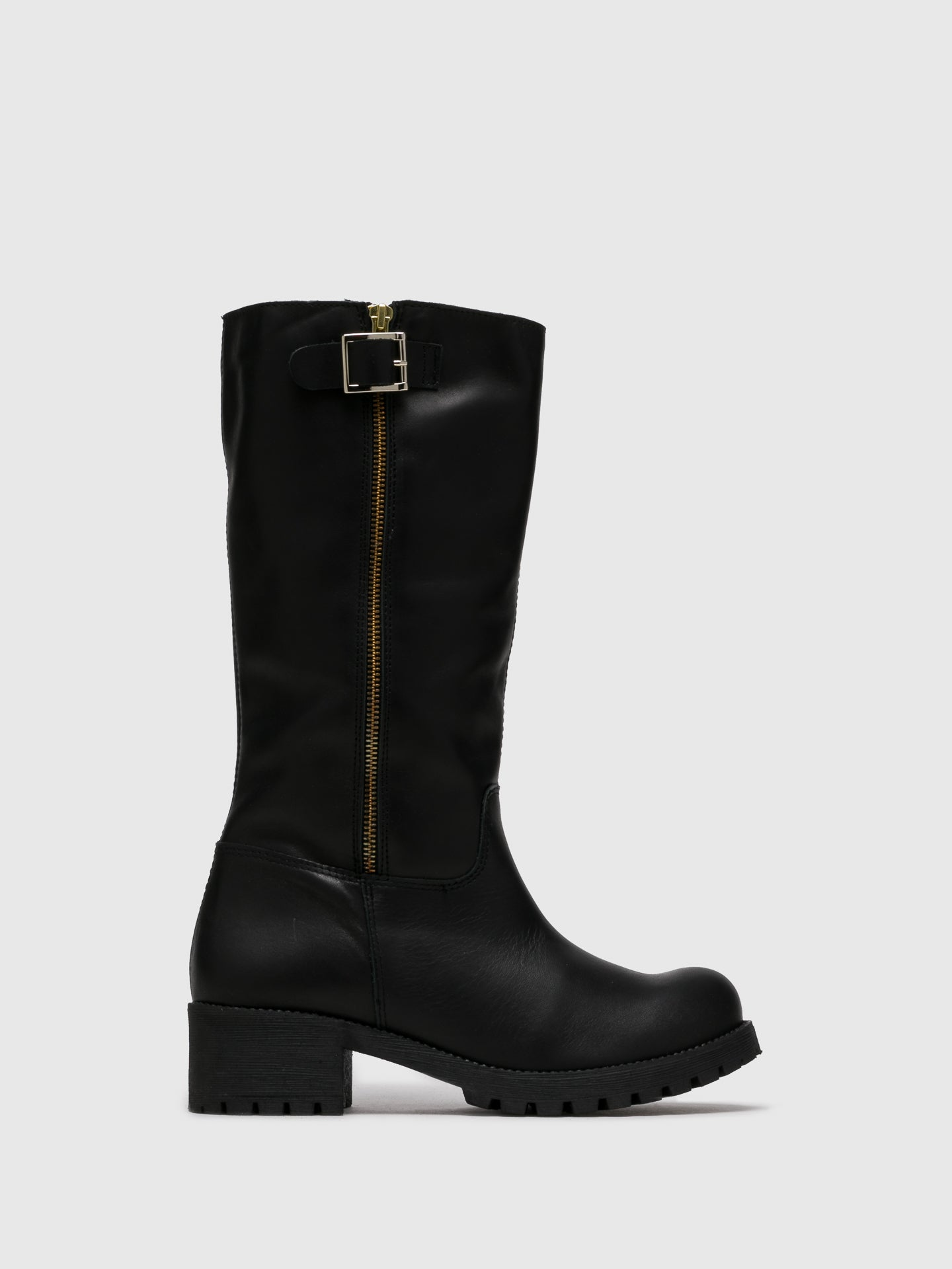 Sotoalto Black Zip Up Boots