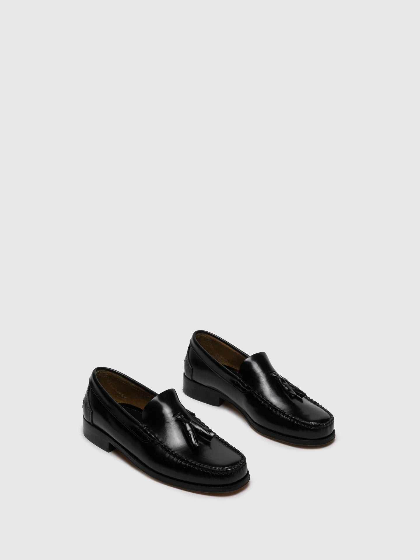 Sotoalto Gloss Black Loafers Shoes