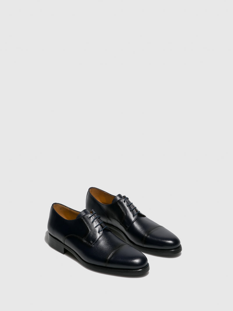 Sotoalto Navy Lace-up Shoes