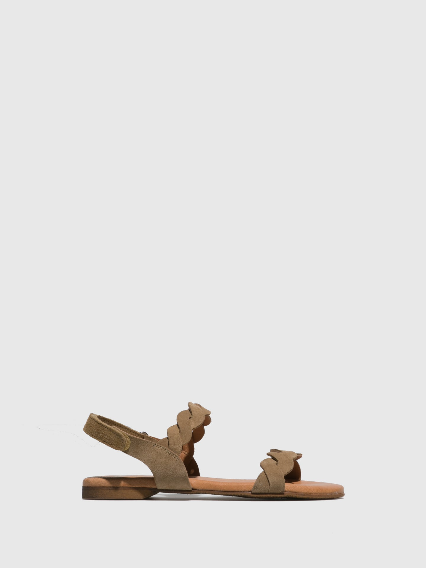 Sotoalto Tan Velcro Sandals
