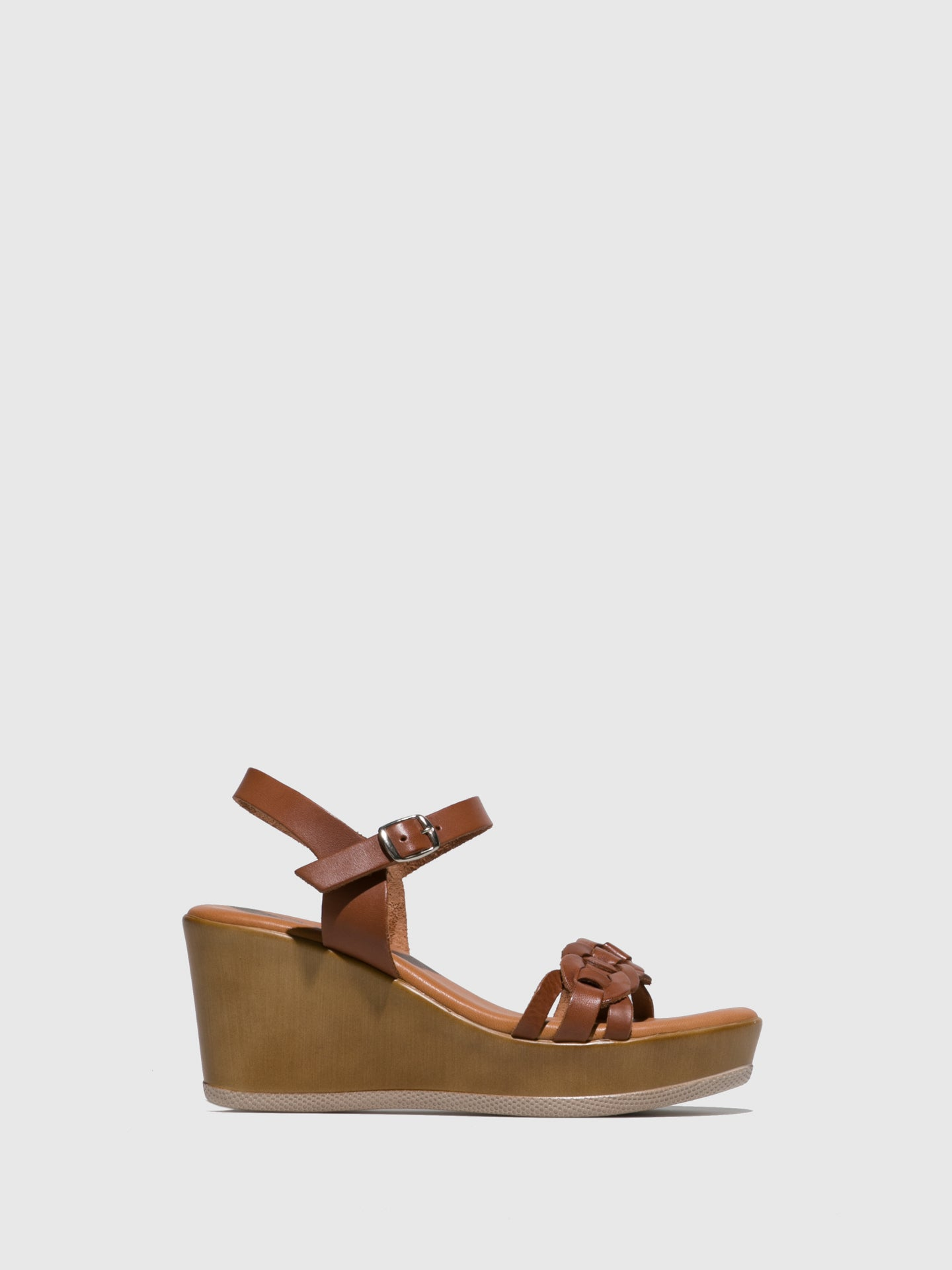 Sotoalto Tan Wedge Sandals