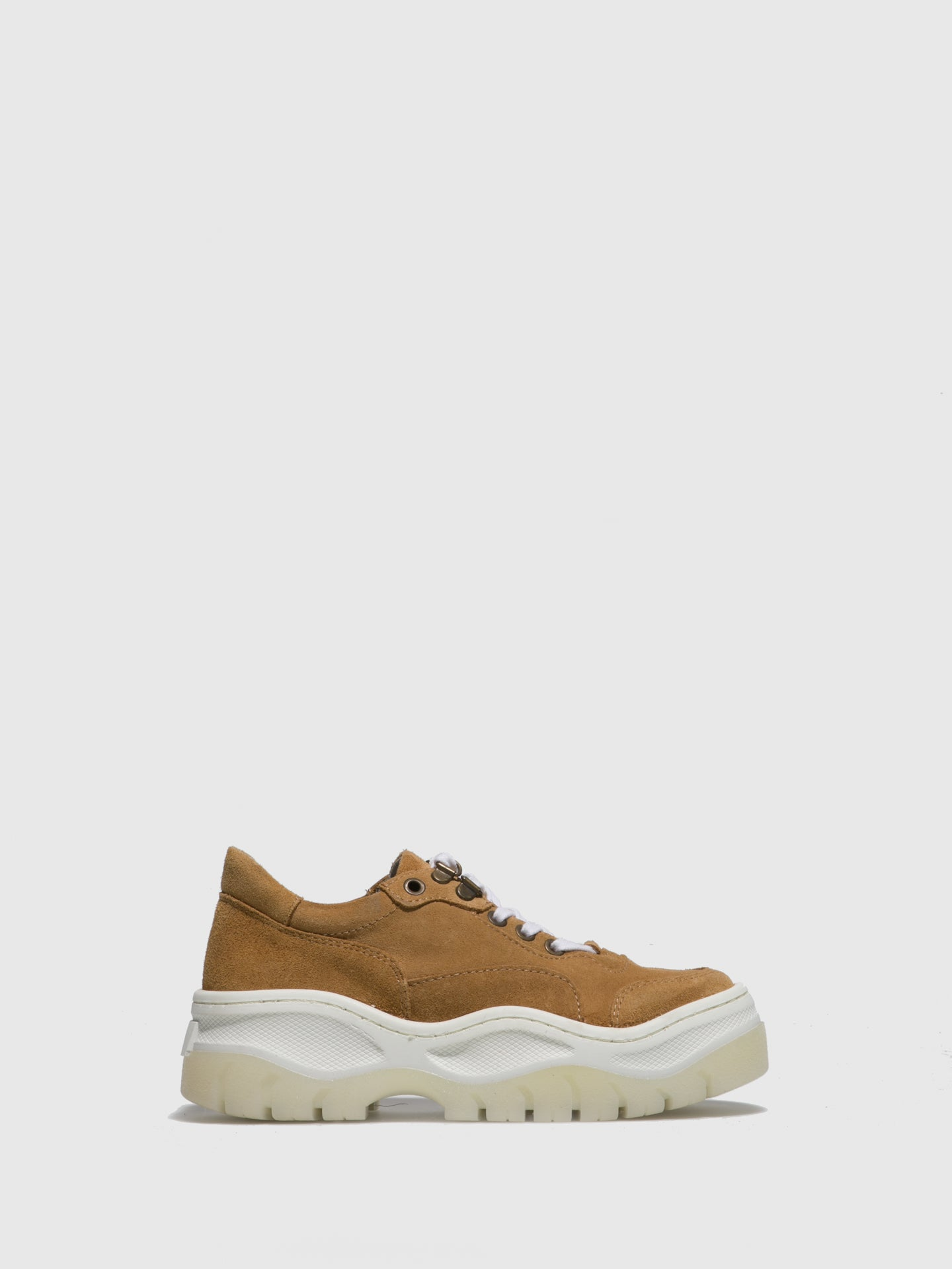 Sotoalto Brown Platform Trainers