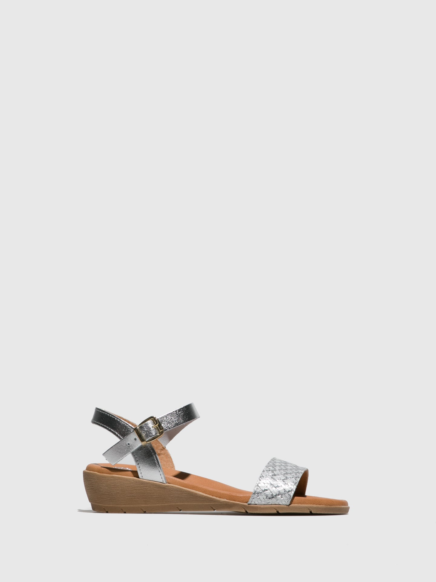Sotoalto Silver Buckle Sandals