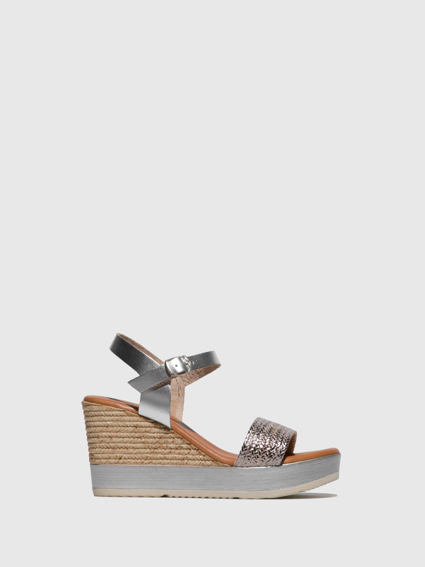 Sotoalto Silver Wedge Sandals