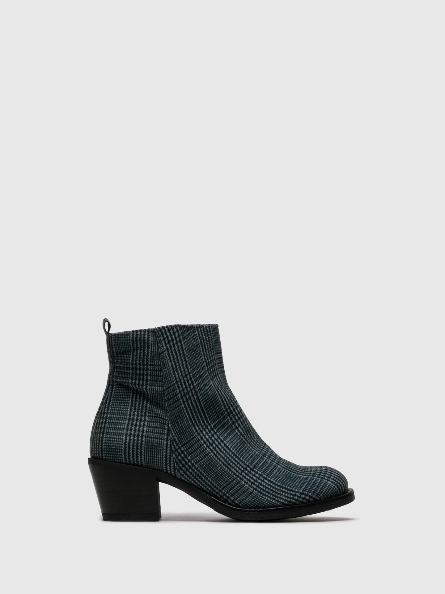 Sotoalto Multicolor Zip Up Ankle Boots