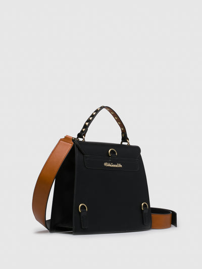 TOSCA BLU Black Crossbody Bag