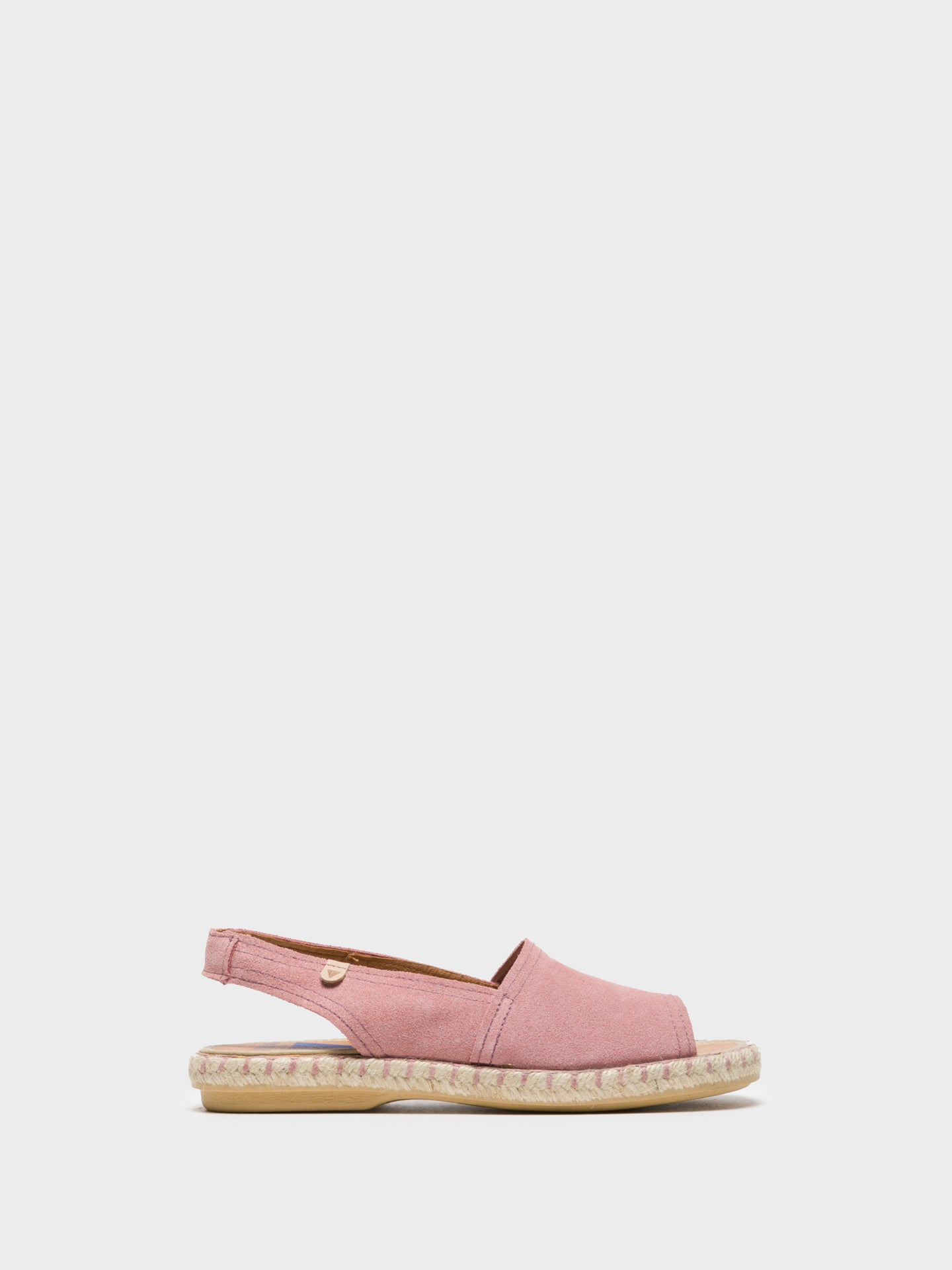 Verbenas Pink Sling-Back Sandals