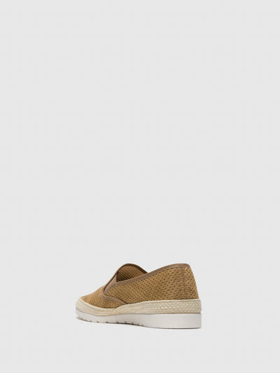 Verbenas Brown Slip-on Trainers