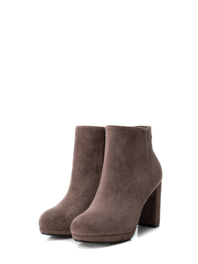 XTI Peru Zip Up Ankle Boots