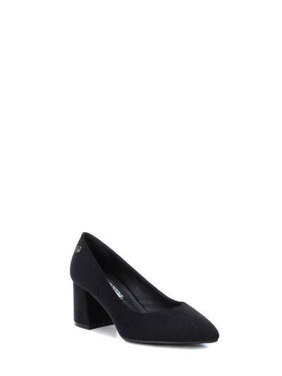 XTI Black Pointed Toe Shoes