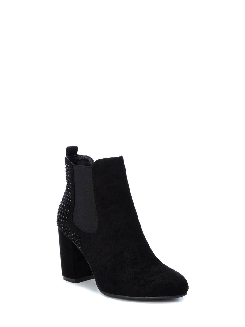 Black Elasticated Ankle Boots