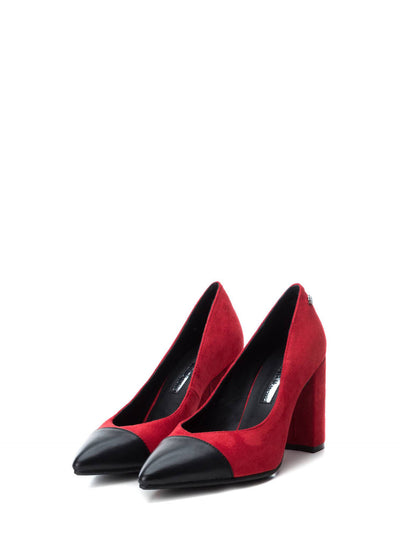 XTI Red Pointed Toe Shoes