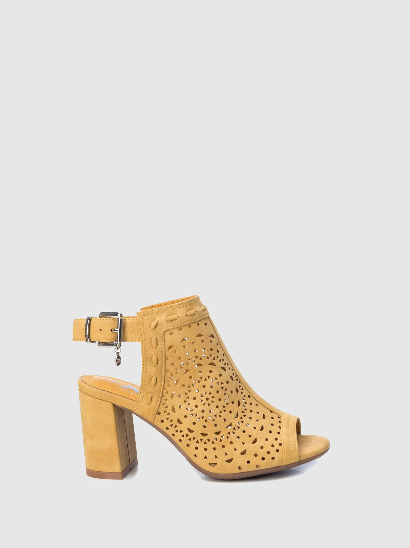 XTI Yellow Open Toe Sandals