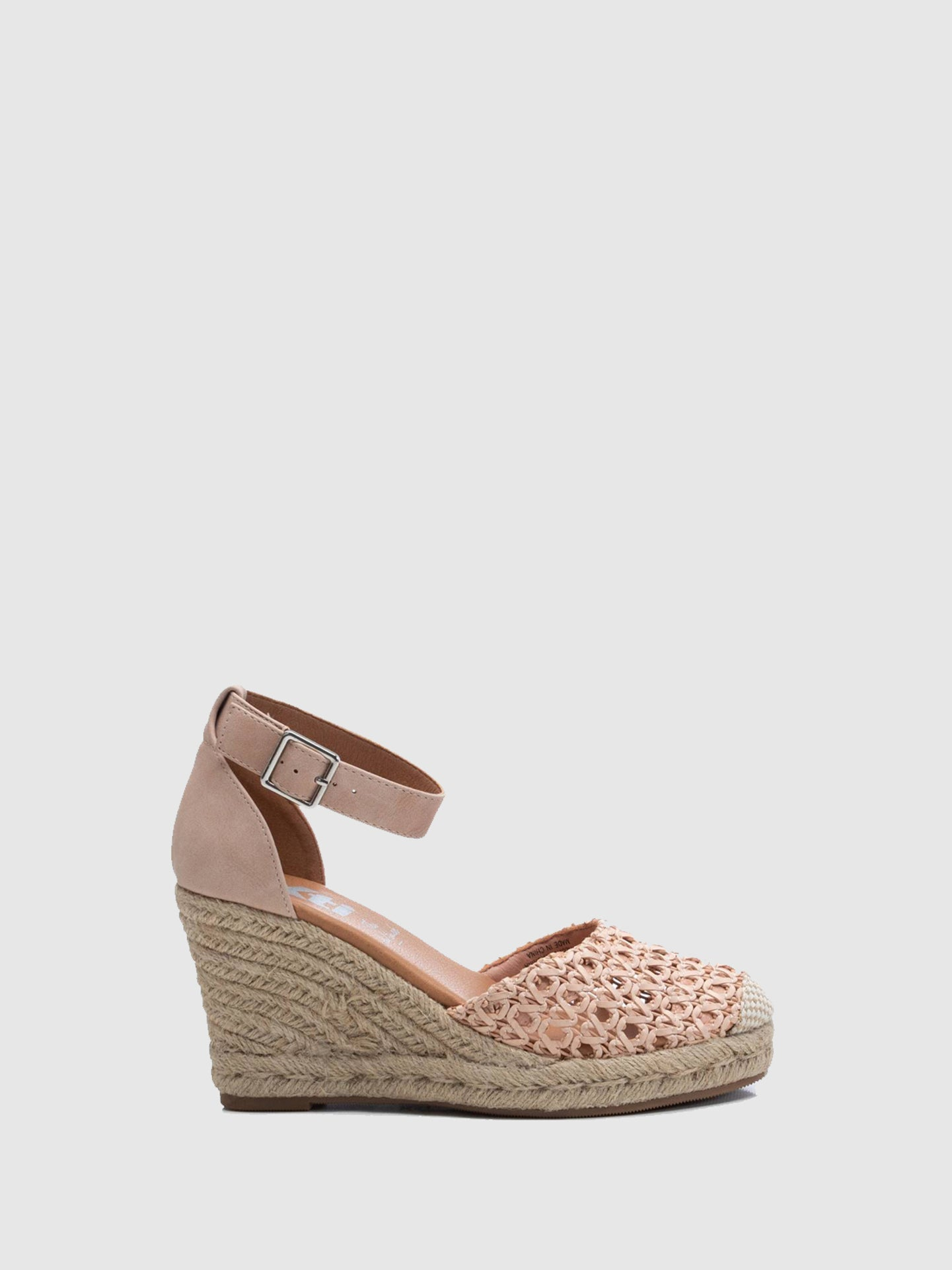 XTI Pink Wedge Sandals